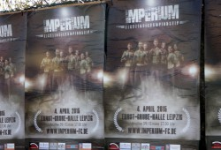 Plakat Imperium Fighting Championship. Foto: Alexander Böhm