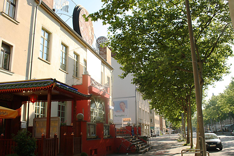 Die Schaubühne Lindenfels in der Karl-Heine-Straße. Foto: Ralf Julke