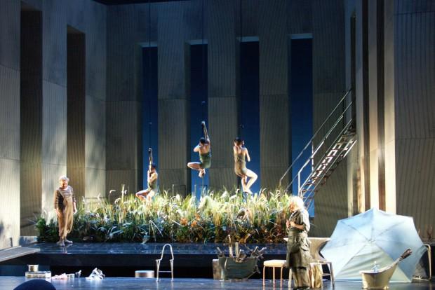 """Scherzo, Märchen, Komödie: """"Siegfried""""-Inszenierung an der Oper Leipzig. Foto: Karsten Pietsch"""