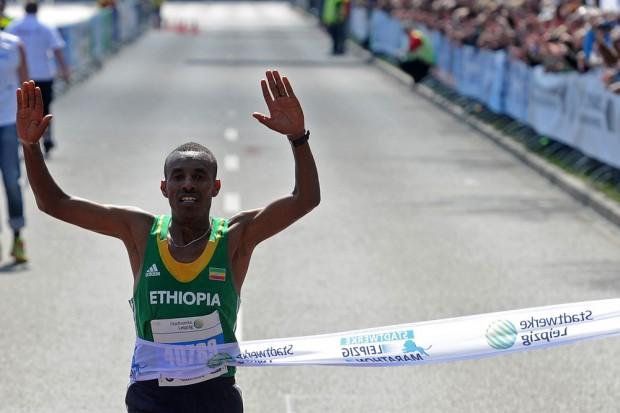 Sieger Tekalegn Tebelu Abebe aus Leipzigs Partnerstadt Addis Abeba. Foto: Veranstalter/Norman Rembarz