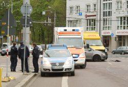 Die meisten Unfälle in der Großstadt - wie hier in der Friedrich-Ebert-Straße - enden mit Blechschaden. Foto: Ralf Julke