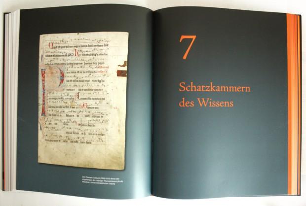 """Aufschlagseite für Kapitel 7 """"Schatzkammern des Wissens"""". Foto: Ralf Julke"""