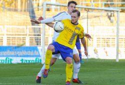 Andy Wendschuch (hier in einem früheren Spiel) erzielte den einzigen Treffer der Partie. Foto: Jan Kaefer