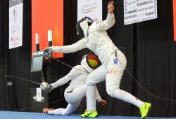 Im Finale zog Monika Sozanska (Leipzig) gegen Imke Duplitzer (Halle-Neustadt) den Kürzeren. Foto: Jan Kaefer