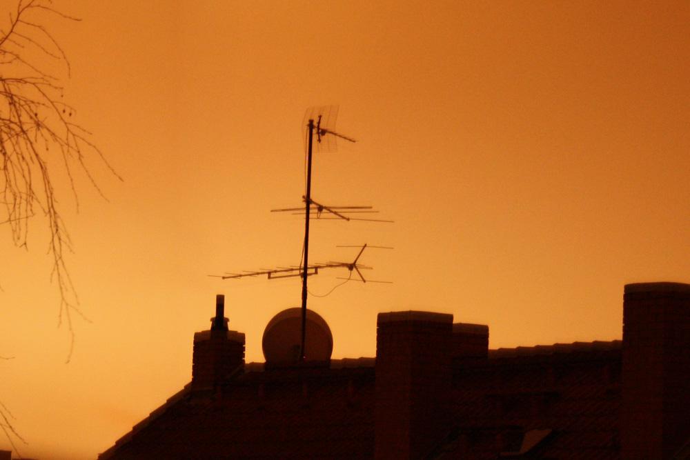 Heute mal ohne Senderlogo: eine schöne Antenne mit Westempfang. Foto: Ralf Julke