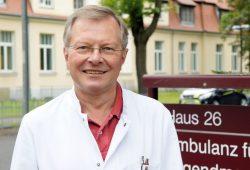 Prof. Dr. med. Michael Borte ist Chefarzt der Klinik für Kinder- und Jugendmedizin im Klinikum St. Georg in Leipzig. Foto: Klinikum St. Georg