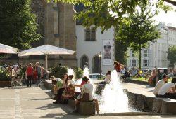 """Punktet Leipzig mit """"Leuchttürmen"""" oder doch eher mit urbaner Lebensart? Foto: Ralf Julke"""