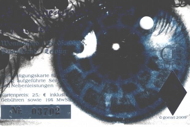 Die schwarze Sonne auf der Obsorgekarte 2009. Foto: L-IZ.de