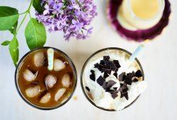 Thailändischer Eiskaffee. Foto: Maike Klose