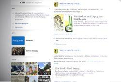 Facebook-Seite der Stadt Leipzig: Social Media wird niemals einen gescheiten Bürgerdialog ermöglichen. Screenshot: L-IZ