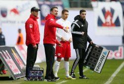 Daniel Frahn könnte gegen Fürth zu letzten Mal für Leipzig auflaufen. Foto: Gepa Pictures