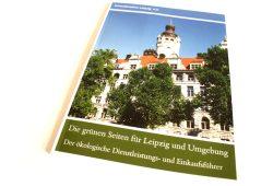 Umweltinstitut Leipzig e.V.: Die grünen Seiten für Leipzig und Umgebung. Foto: Ralf Julke