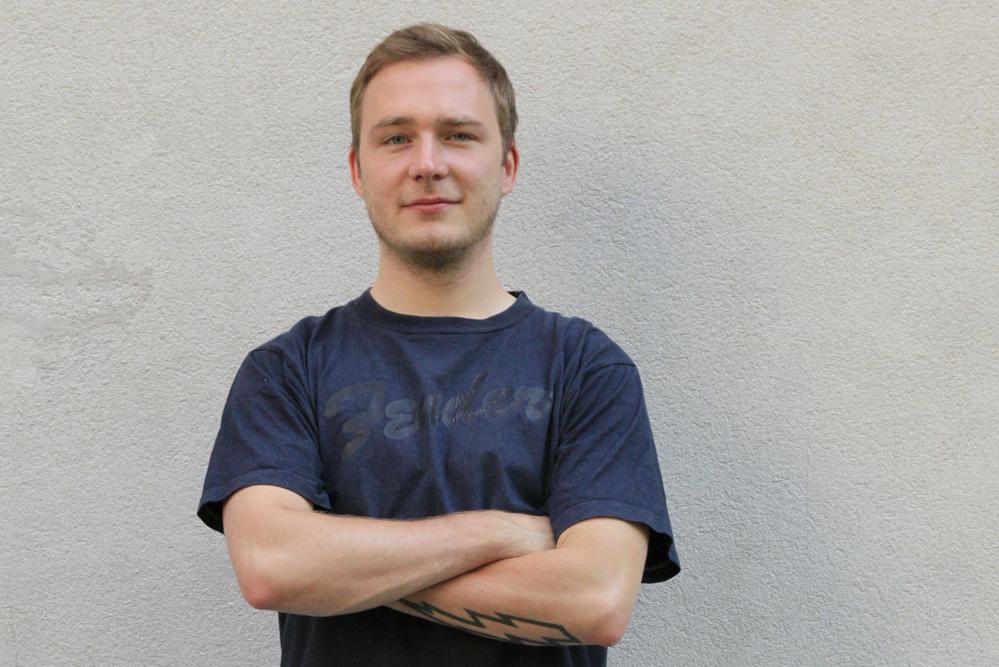 André Herrmann. Foto: Felix Förster