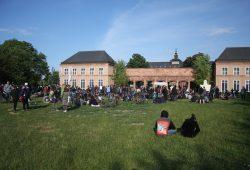Entspanntes Ausklingen vor Grassimuseum. Foto: Alexander Böhm