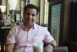 Mourad El Amraoui, muslimischer Student. Foto: Ernst-Ulrich Kneitschel