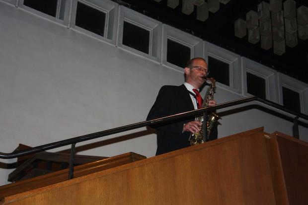 Saxophon zum Abschied vom Rosental. Foto: Ernst-Ulrich Kneitschel