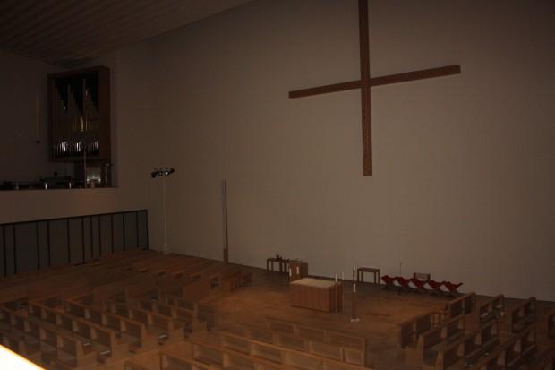 Innenraum der neuen Propstei. Foto: Ernst-Ulrich Kneitschel