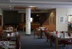 Speisesaal der Amalie-Wohnanlage in Paunsdorf. Foto: Ernst-Ulrich Kneitschel