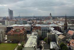 Das Zentrum der Metropolregion Mitteldeutschland: Leipzig. Foto: Ralf Julke