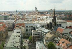 Blick über Leipzig Richtung Süden. Foto: Ralf Julke