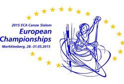 Nächsten Donnerstag startet in Markkleeberg die EM im Kanuslalom. Grafik: Offizielles EM-Logo