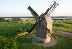 Die Paltrockwindmühle bei Höfgen. Foto: Flashlight-media/Stadt Grimma