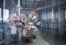 Das NanoSIMS, einer der Stars im neuen ProVIS. Foto: André Künzelmann, UFZ