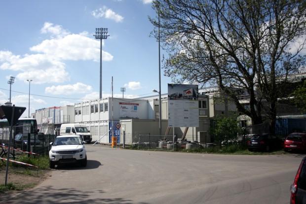 Rasenball Leipzig e.V. im Cottaweg. Foto: Alexander Böhm