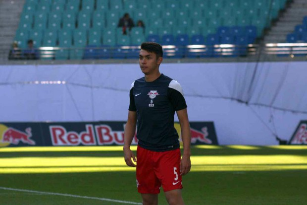 RB-U19 Talent John-Patrick Strauß. Foto: Alexander Böhm