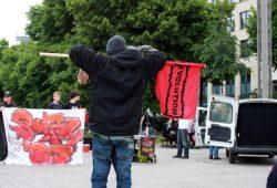 Revolution in Leipzig gegen den G7-Gipfel. Foto: Alexander Böhm