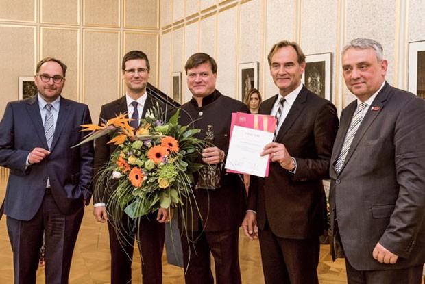 Verleihung des Richard-Wagner-Preises an Christian Thielemann. Foto: Richard-Wagner-Stiftung Leipzig