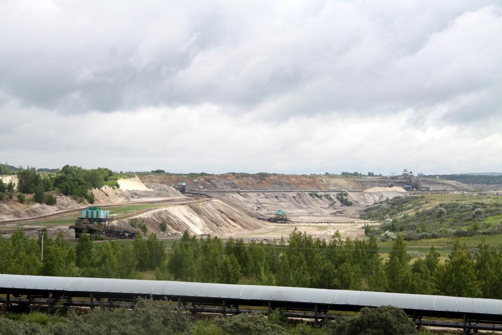 Tagebau Vereinigtes Schleenhain. Foto: Matthias Weidemann