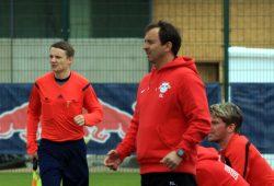U19-Coach Frank Leicht steht mit seinem Team vor dem Einzug in die Endrunde um die Deutsche Meisterschaft. Foto: Alexander Böhm