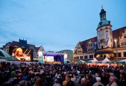 BACHmosphäre auf dem Leipziger Markt. Foto: Bachfest Leipzig