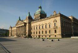 Das Bundesverwaltungsgericht am Simsonplatz. Foto: Ralf Julke
