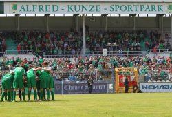 BSG Chemie Leipzig, Stahl Riesa, Landesliga, 2015.Foto: Jan Kaefer