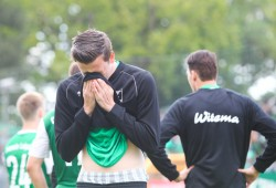 Tränen der Enttäuschung nach der BSG-Niederlage zum Saisonfinale. Foto: Jan Kaefer