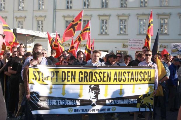 Die Identitäre Bewegung. Foto: L-IZ.de