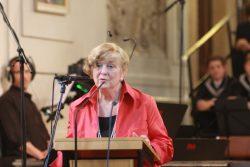 Die Witwe des Spenders Judith McCartin Scheide. Foto: Alexander Böhm