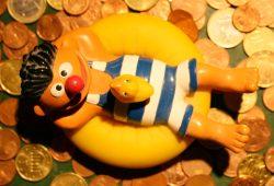 Hat hier einer gesagt, dass wir im Geld schwimmen? Foto: Ralf Julke
