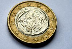 Ein griechischer Euro. Foto: Ralf Julke