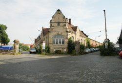 """Zufahrt zum Gelände """"Am Alten Zoll"""" westlich des Hauptbahnhofs. Foto: Ralf Julke"""