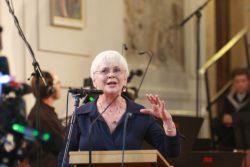 "Barbara Scheide ""I'm glad, that Bach is back"". Foto: Alexander Böhm"
