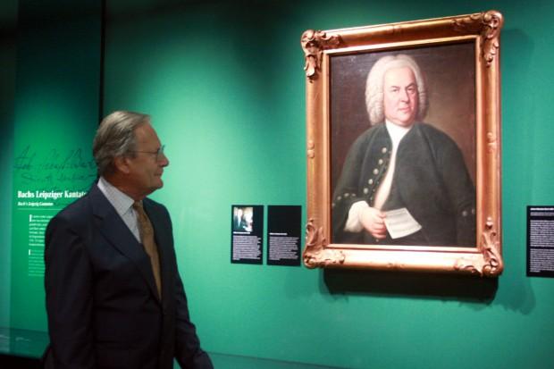 Präsident des Bach-Archivs John Eliot Gardiner. Foto: Alexander Böhm