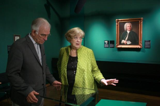 Judith Scheide erklärt warum Bach so beliebt ist. Foto: Alexander Böhm