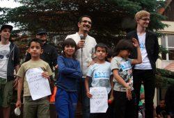 Syrische Kinder bedanken sich für die Unterstützung. Foto: Alexander Böhm