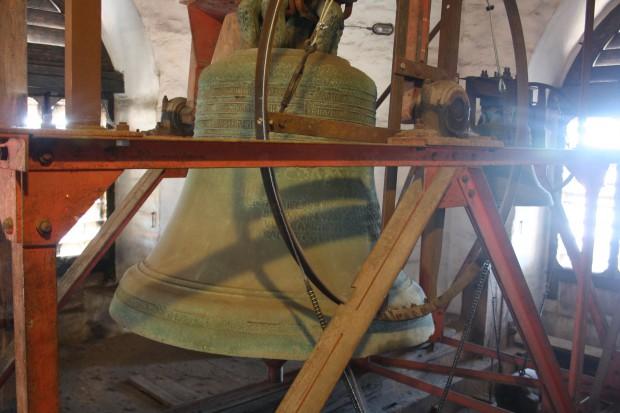 Glockenstuhl der Thomaskirche. Foto: Ernst-Ulrich Kneitschel