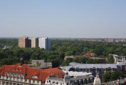 Bick über Leipzig vom Turm der Thomaskirche aus. Foto: Ernst-Ulrich Kneitschel
