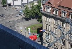 Blick Richtung Ring vom Turm der Thomaskirche. Foto: Ernst-Ulrich Kneitschel