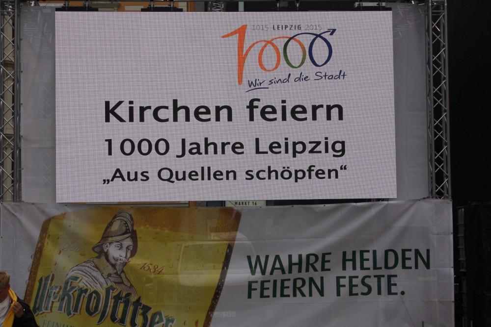 Die Kirchen feiern. Foto:Ernst-Ulrich Kneitschel